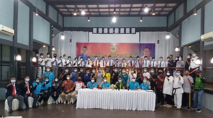 Eddy Sibarani Apresiasi Program Pembinaan Prestasi FORKI Medan