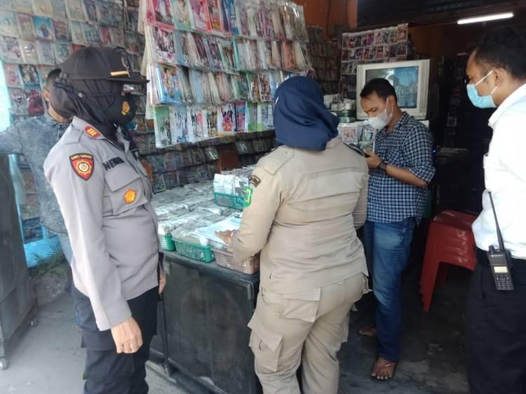 2 Toko Kaset CD di Simpang Limun 'Disegel'