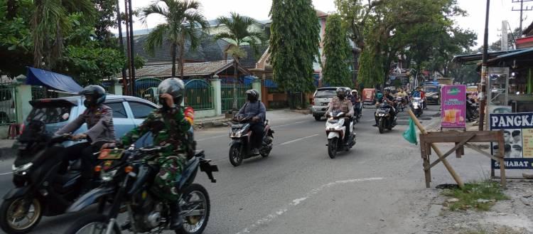 Polsek Patumbak Patroli Pantau 6 Lokasi Tempat Keramaian