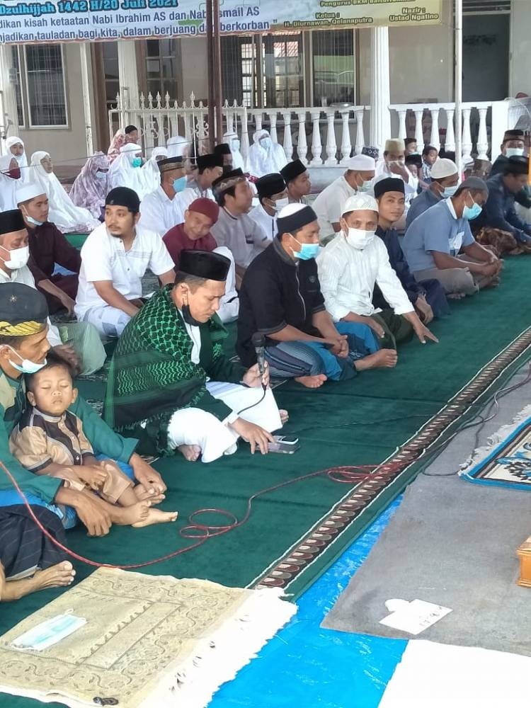 Masjid di Medan Tetap Salat Idul Adha dan Sembelih Hewan Qurban