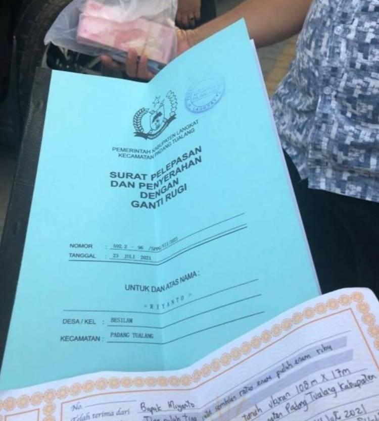 Poldasu Lengkapi Berkas OTT Padang Tualang