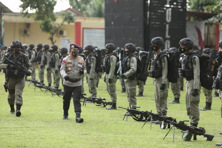 Kapolda Sumut Kirim 203 Personel Brimob ke Papua